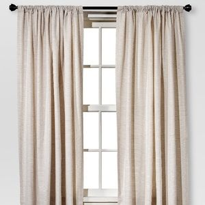 Threshold Curtain Panels (2) (Cream)